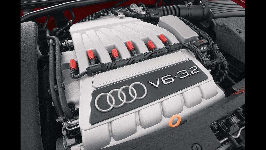 Audi TT 3.2 Quattro Coupé, 2003, Motor