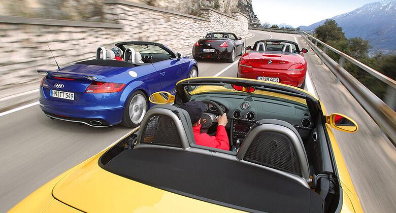 Porsche Boxster 987 Tests Auto Motor Und Sport