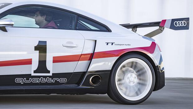 Audi TT Clubsport Turbo Concept, 2015, Exterieur
