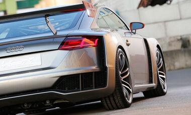 Audi TT Clubsport Turbo Concept - Fahrbericht - Concept Car - Sportwagen