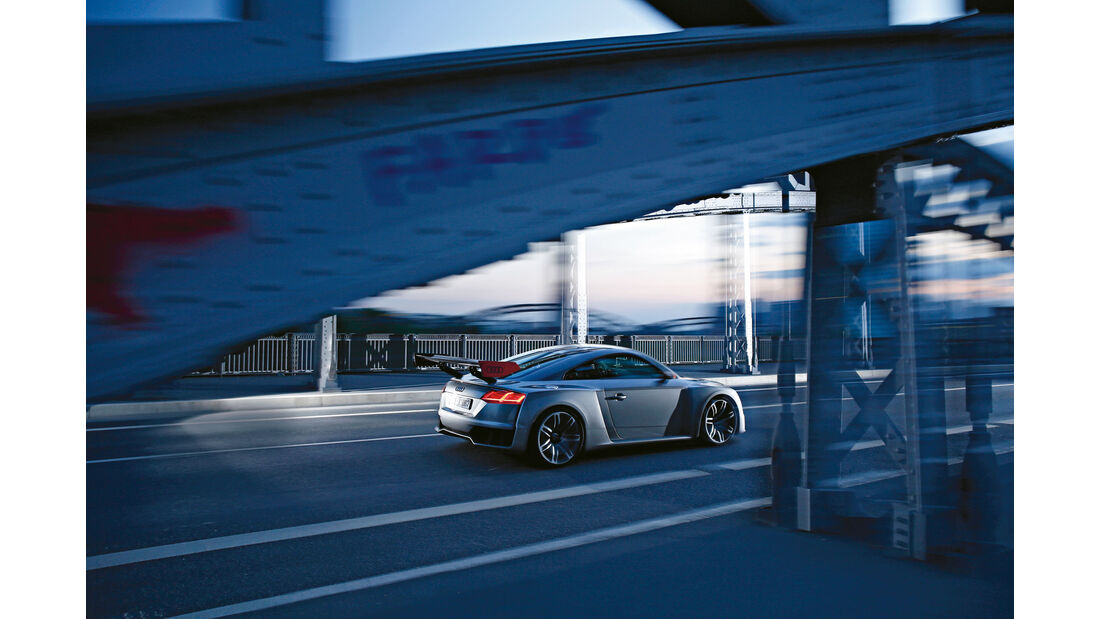 Audi TT Clubsport Turbo Concept - sport auto 07/2015