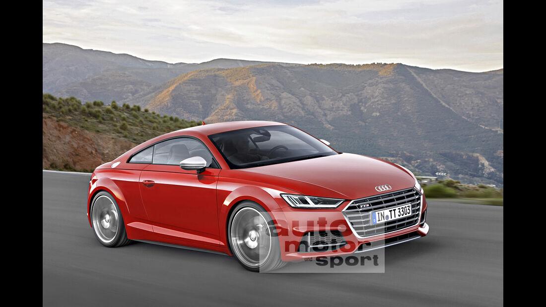 Audi TT Computer-Retusche