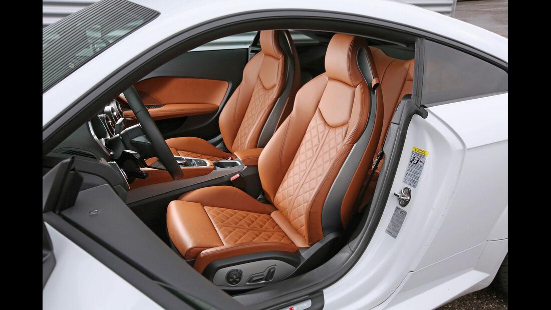 Audi TT Coupé 2.0 TDI, Fahrersitz