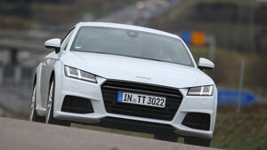 Audi TT Coupé 2.0 TDI, Frontansicht