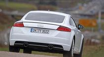 Audi TT Coupé 2.0 TDI, Heckansicht
