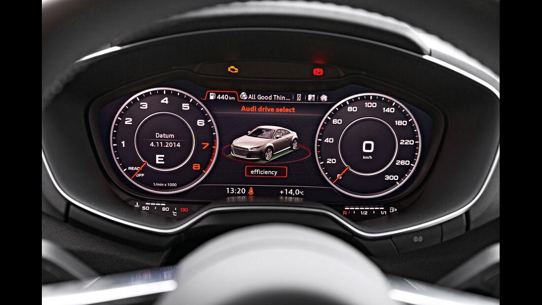 Audi TT Coupé 2.0 TFSI, Anzeigeinstrumente