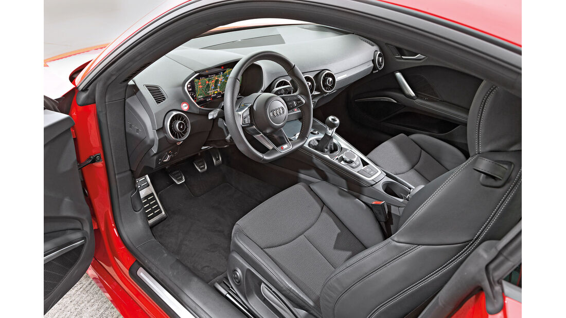 Audi TT Coupé 2.0 TFSI, Cockpit