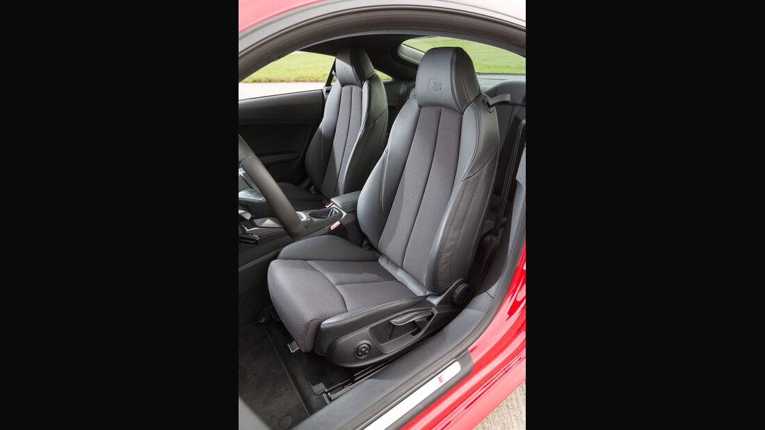 Audi TT Coupé 2.0 TFSI, Fahrersitz