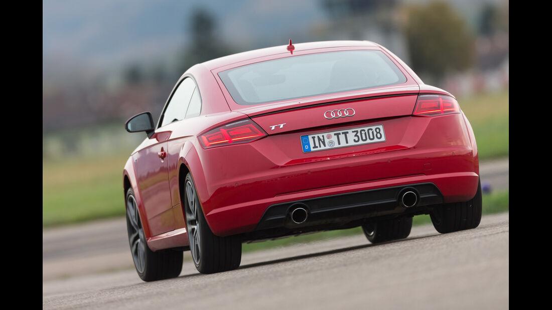 Audi TT Coupé 2.0 TFSI, Heckansicht