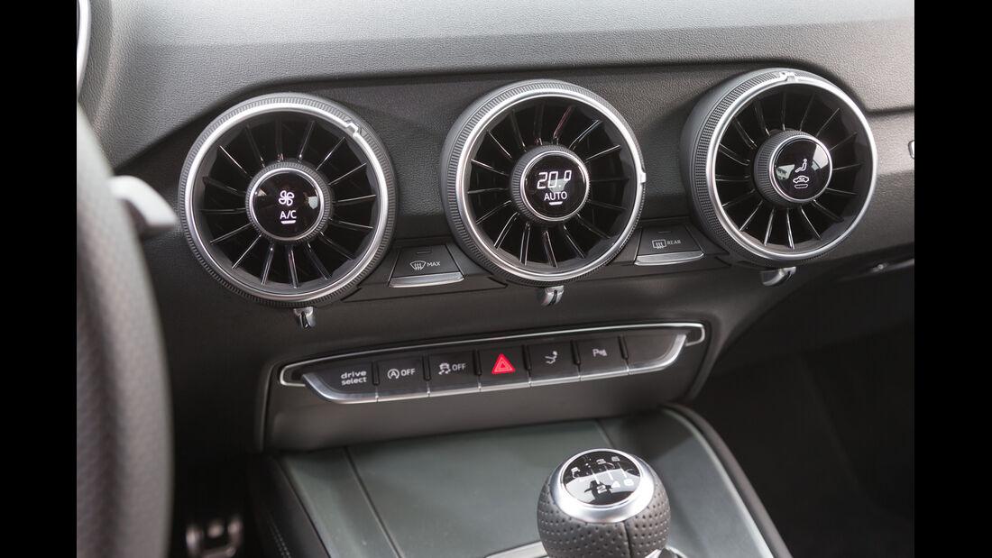 Audi TT Coupé 2.0 TFSI, Luftausströmer