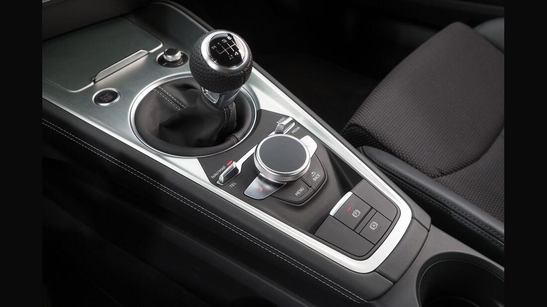 Audi TT Coupé 2.0 TFSI, Schalthebel