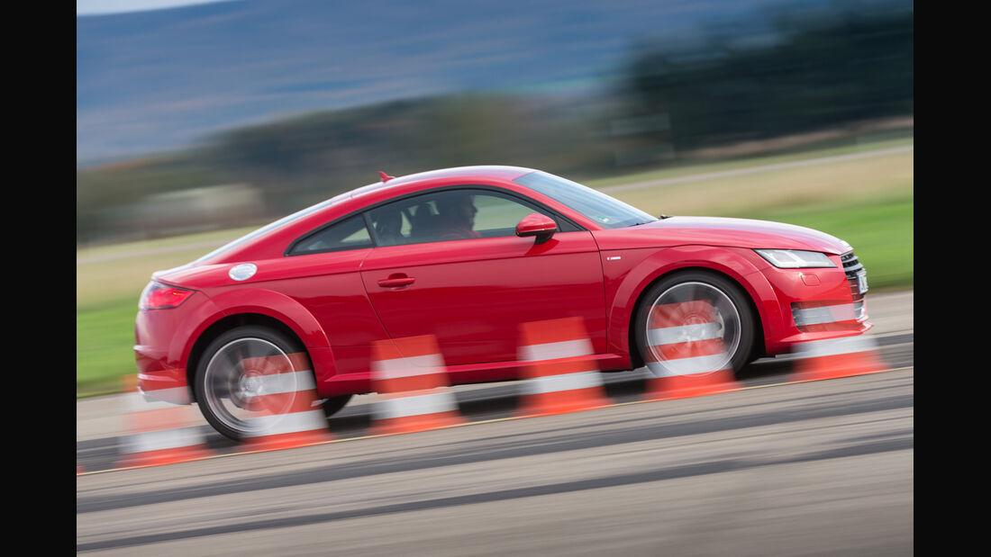 Audi TT Coupé 2.0 TFSI, Seitenansicht