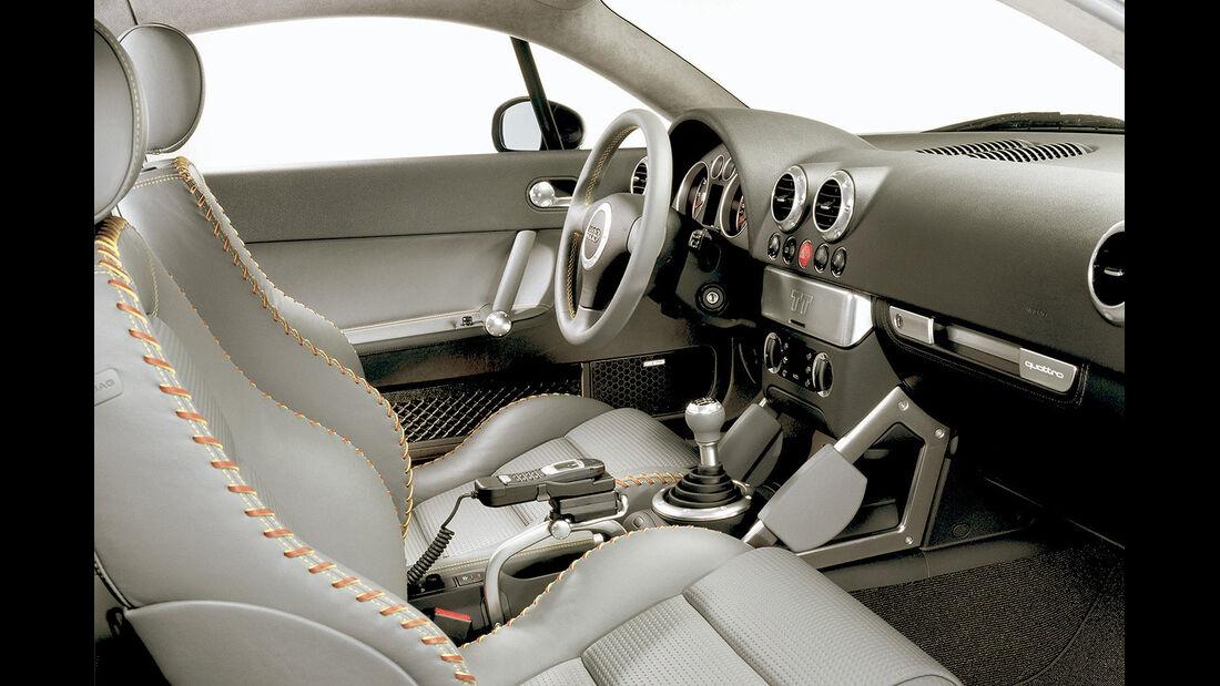 Audi TT Coupé, 2001, Cockpit