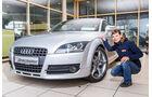 Audi TT Coupé, Frontansicht, Anna Matuschek