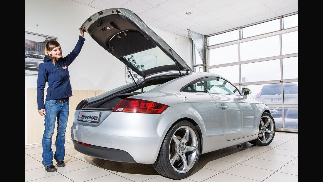 Audi TT Coupé, Heckansicht, Anna Matuschek