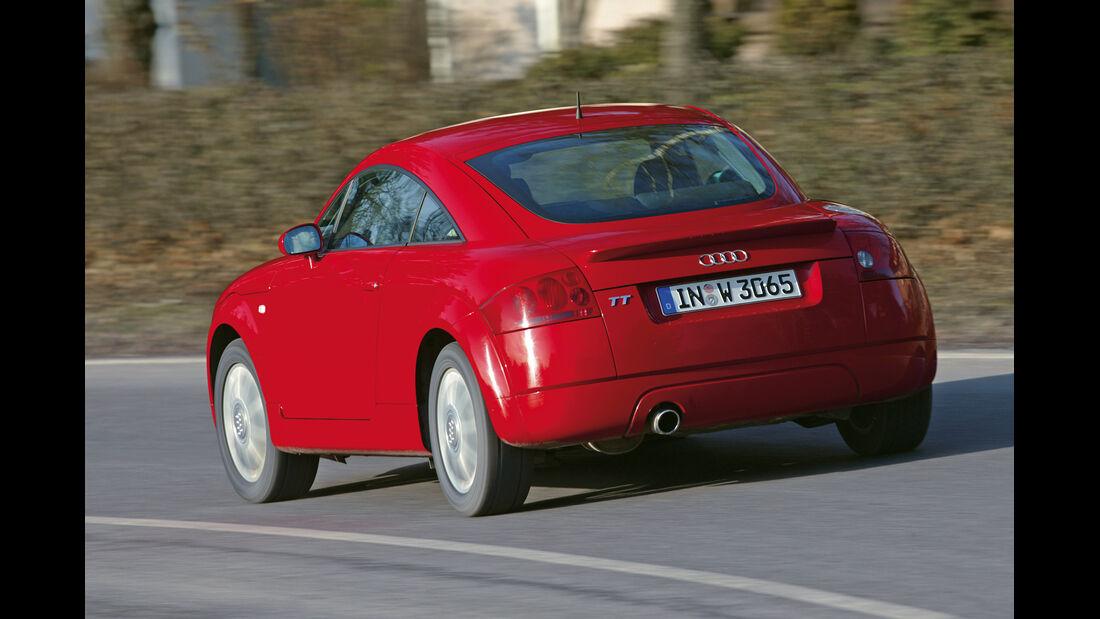 Audi TT Coupé Quattro, Heckansicht