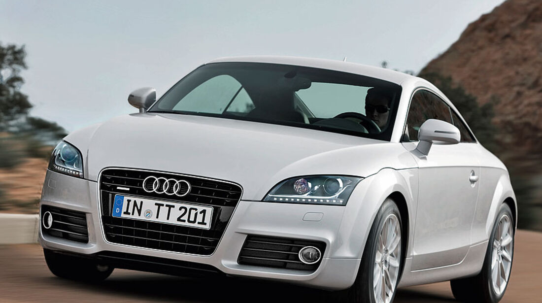 Audi TT Coupé Roadster Facelift 2010