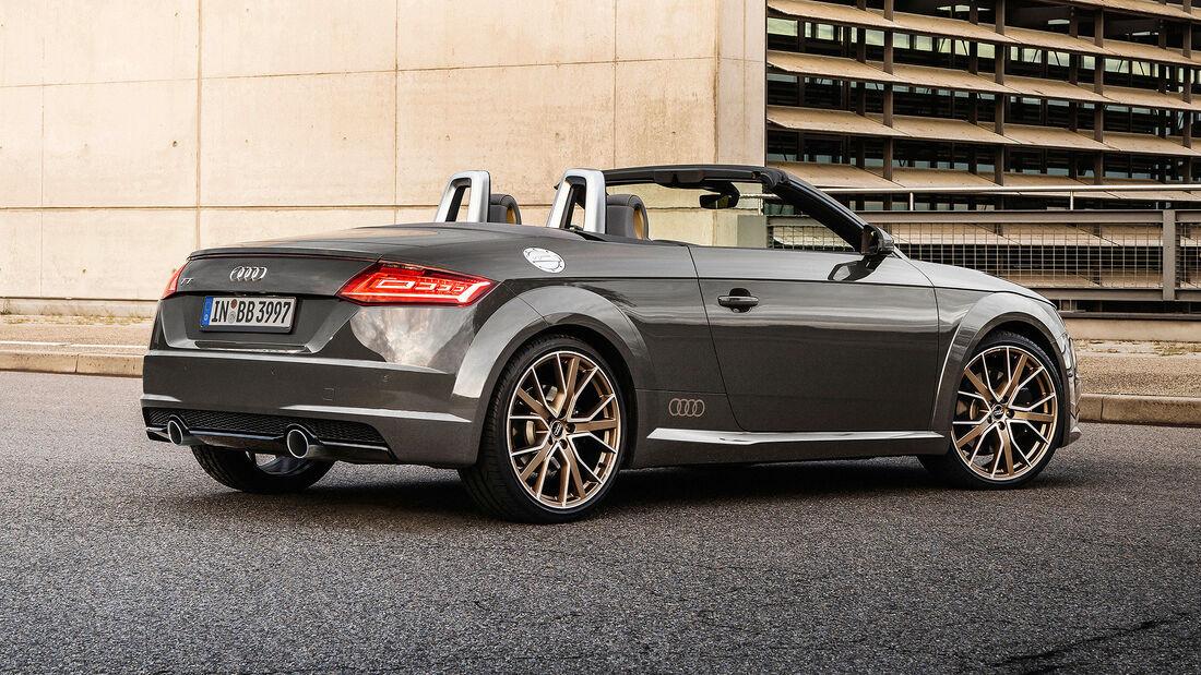 Audi TT Coupé und Roadster bronze selection