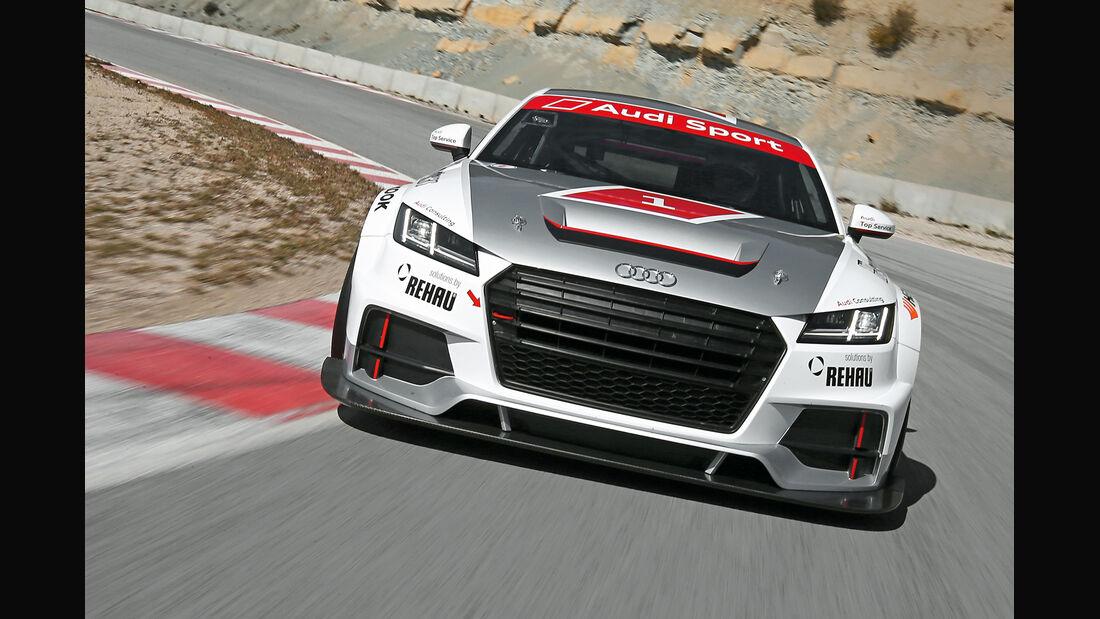 Audi TT Cup, Frontansicht
