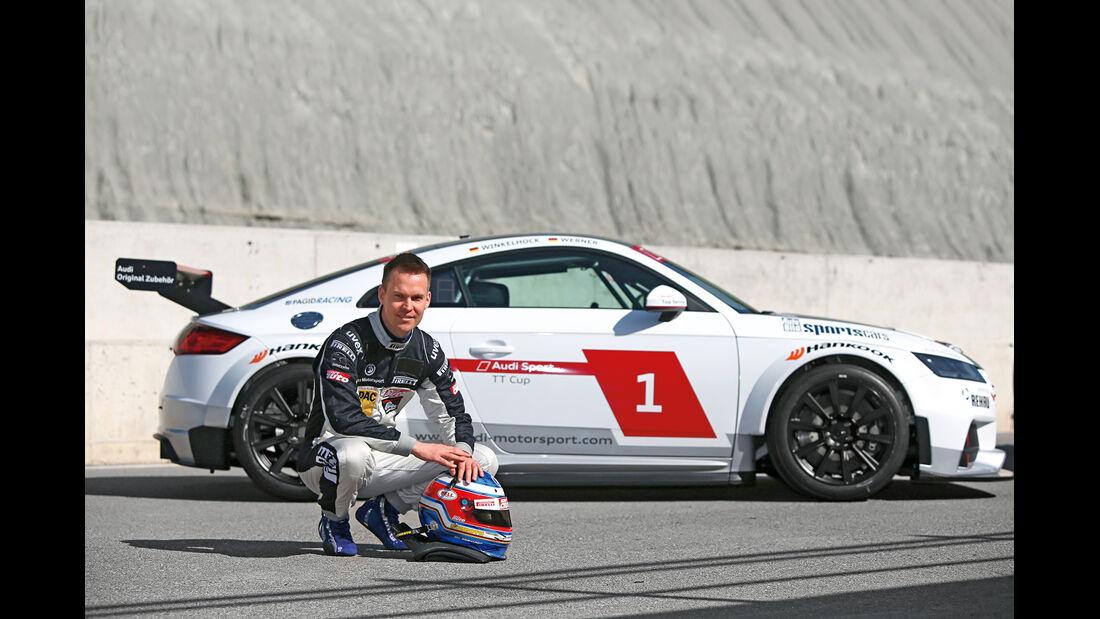 Audi TT Cup, Seitenansicht, Christian Gebhardt