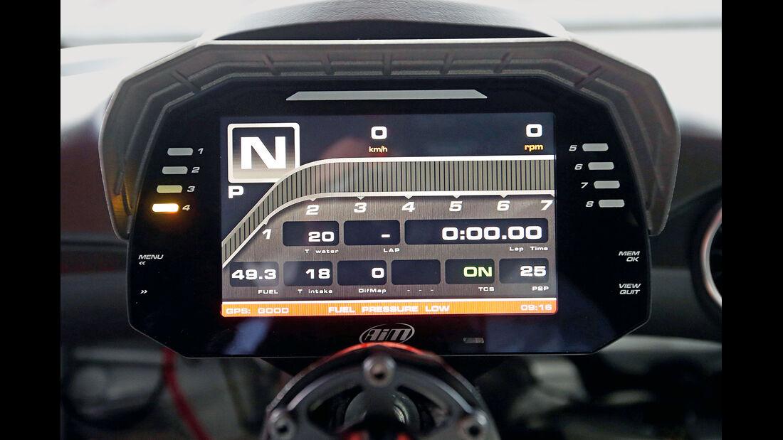Audi TT Cup, Touchscreen