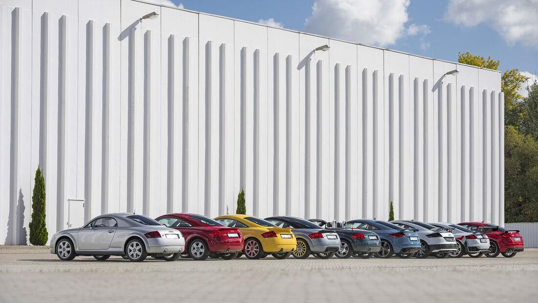 Audi TT, Exterieur