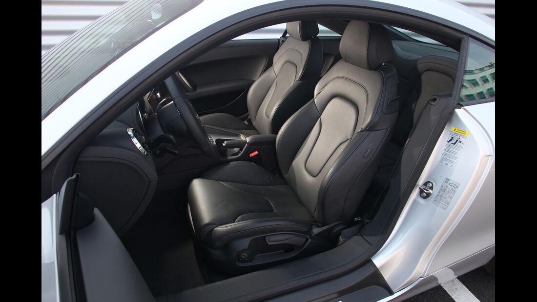 Audi TT, Fahrersitz