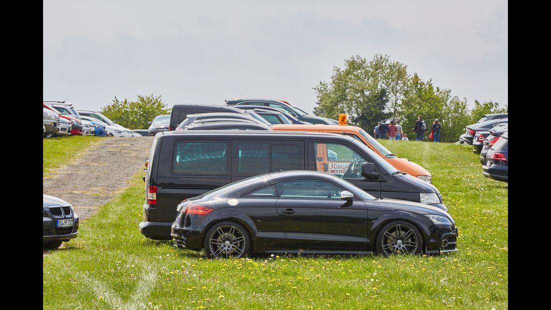 Audi TT - Fan-Autos - 24h-Rennen Nürburgring 2015 - 14.5.2015