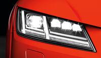 Audi TT, Licht, Scheinwerfer