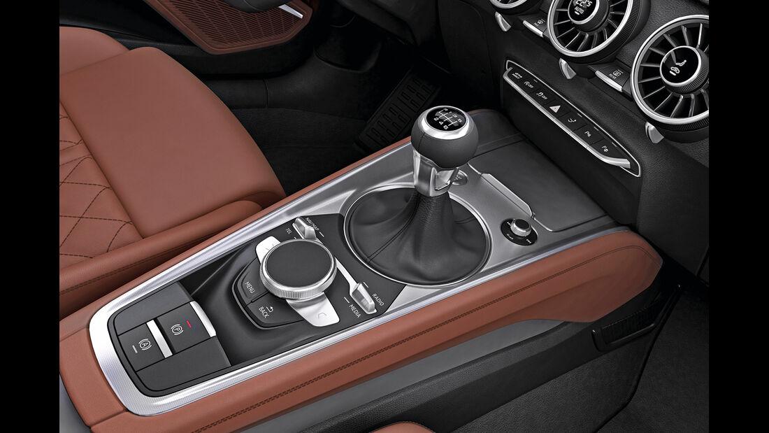 Audi TT, Mittelkonsole