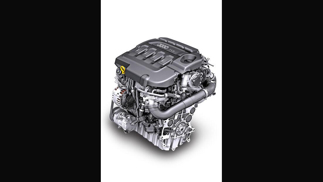 Audi TT, Motor