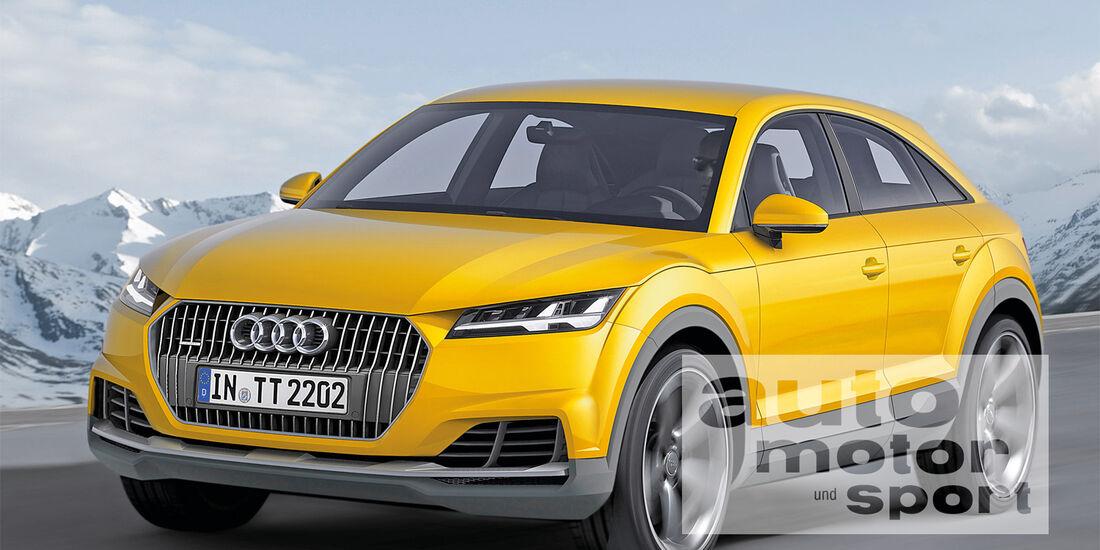 Audi TT Offroad, Frontansicht