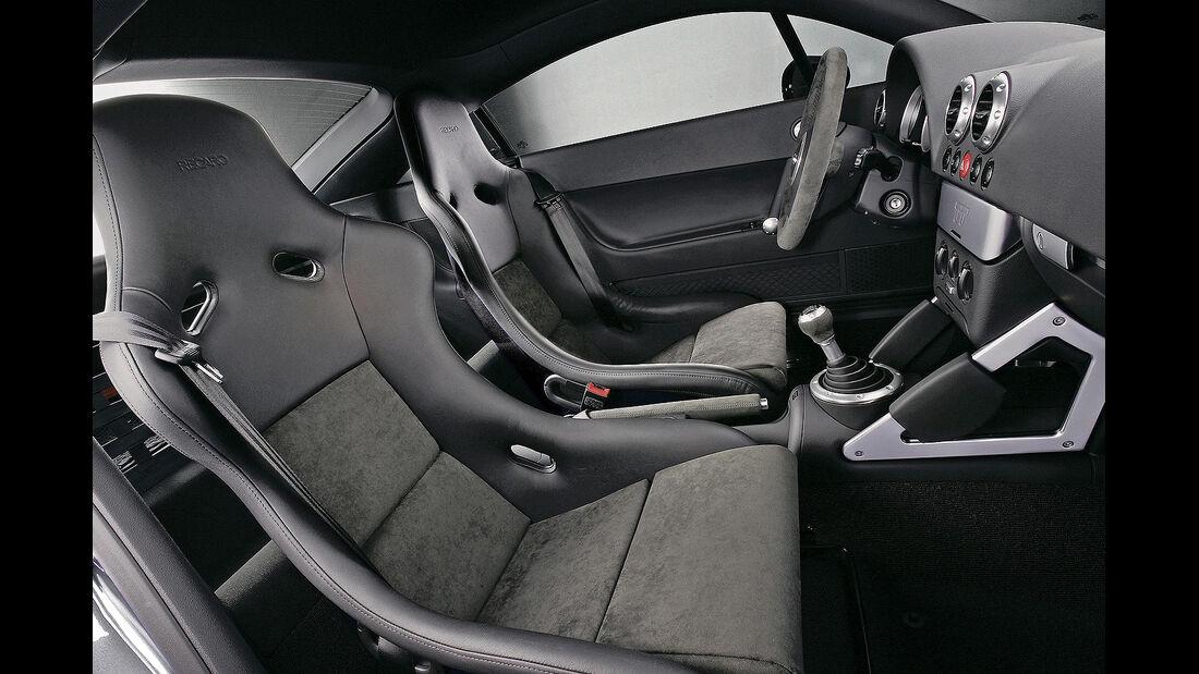 Audi TT Quattro Sport, 2005, Cockpit
