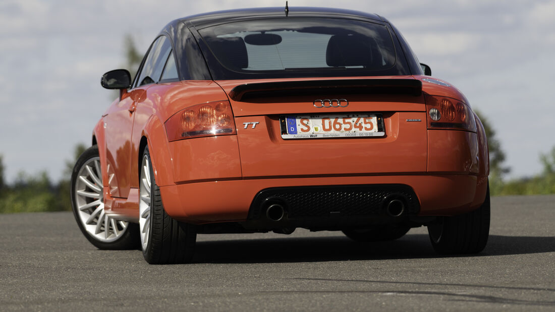 Audi TT Quattro Sport, Exterieur