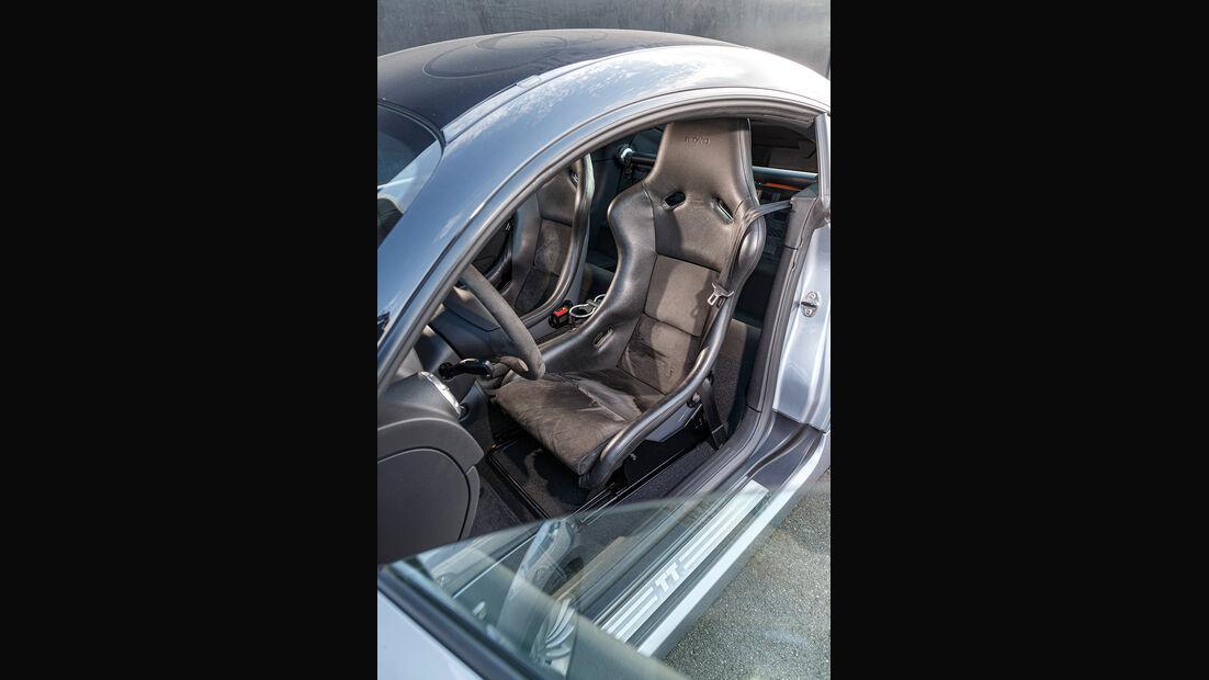 Audi TT Quattro Sport, Interieur