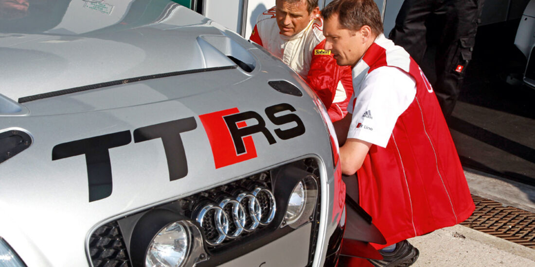 Audi TT RS, Armin Plietsch, Marcus Schurig