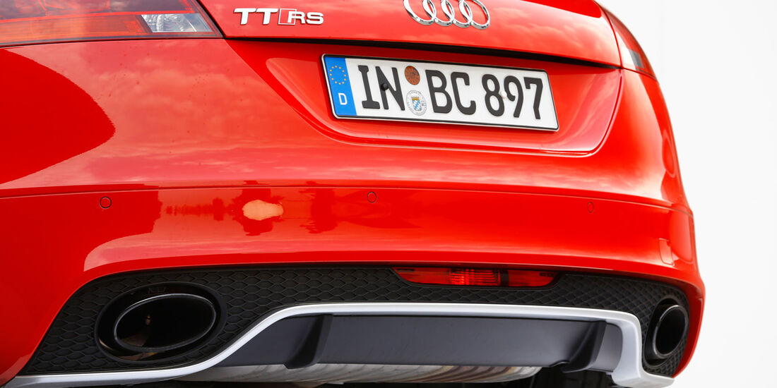 Audi TT RS, Auspuff, Endrohr