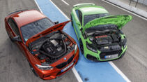 Audi TT RS, BMW M2 Competition, Exterieur