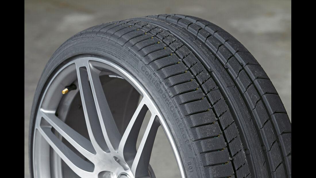 Audi TT RS, Conti Sport Contact 5P