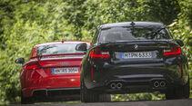 Audi TT RS Coupé, BMW M2 Coupé, Heck