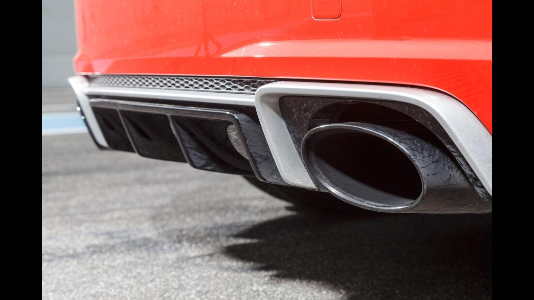 Audi TT RS Coupé, Endrohre