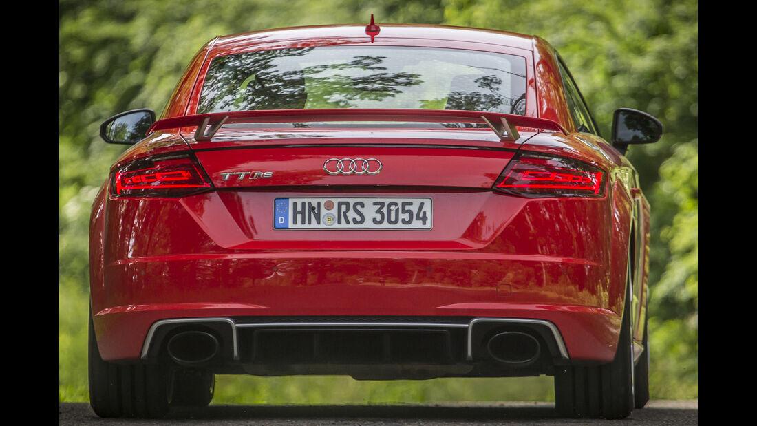 Audi TT RS Coupé, Heck