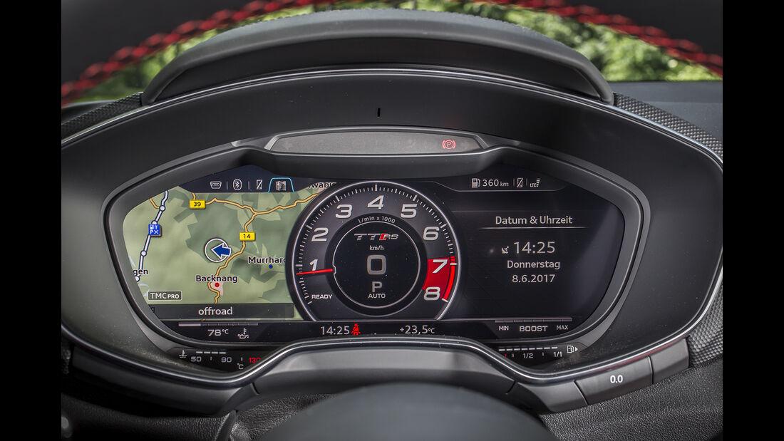 Audi TT RS Coupé, Interieur