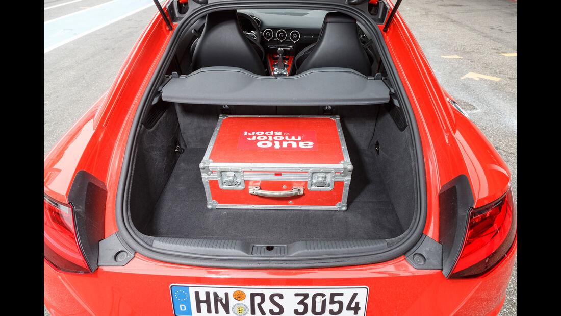 Audi TT RS Coupé, Kofferraum