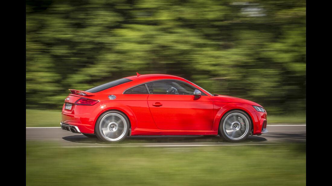 Audi TT RS Coupé, Seitenansicht