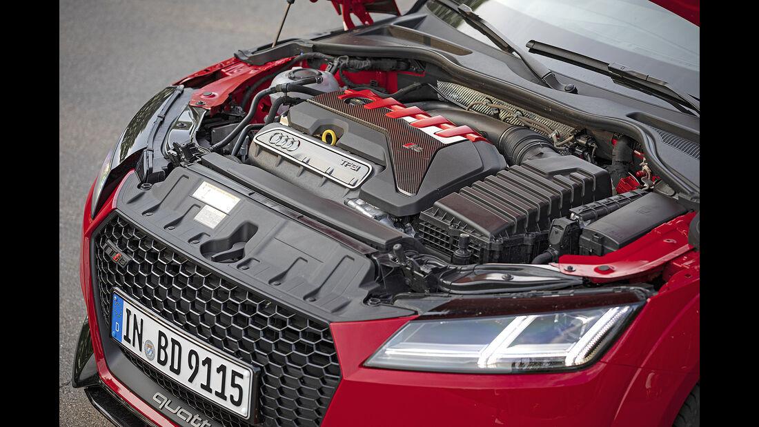 Audi TT RS Coupe, Motorraum