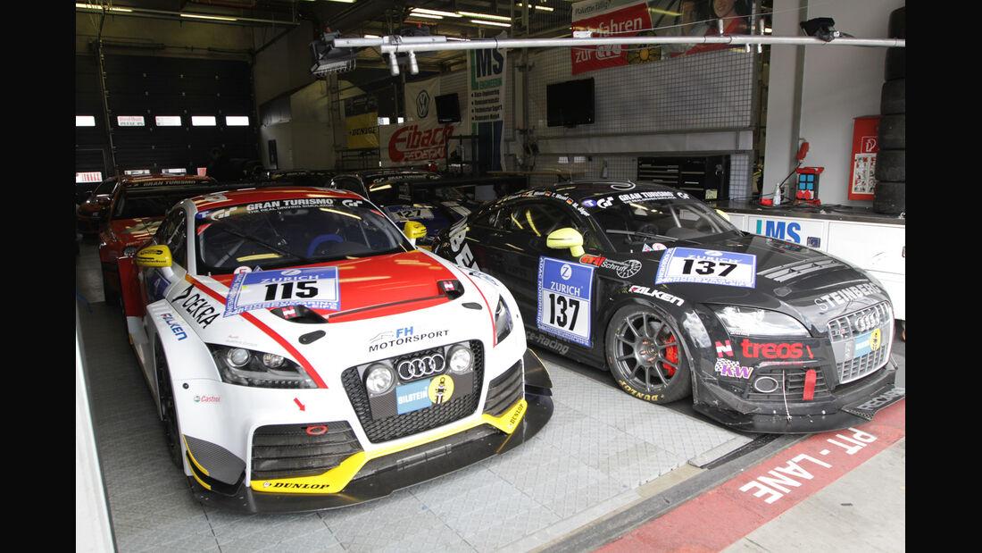 Audi TT RS, FH Köln Motorsport, 24h-Rennen Nürburgring 2012