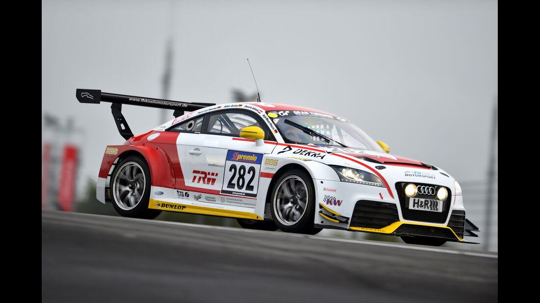 Audi TT RS FH Köln, Seitenansicht