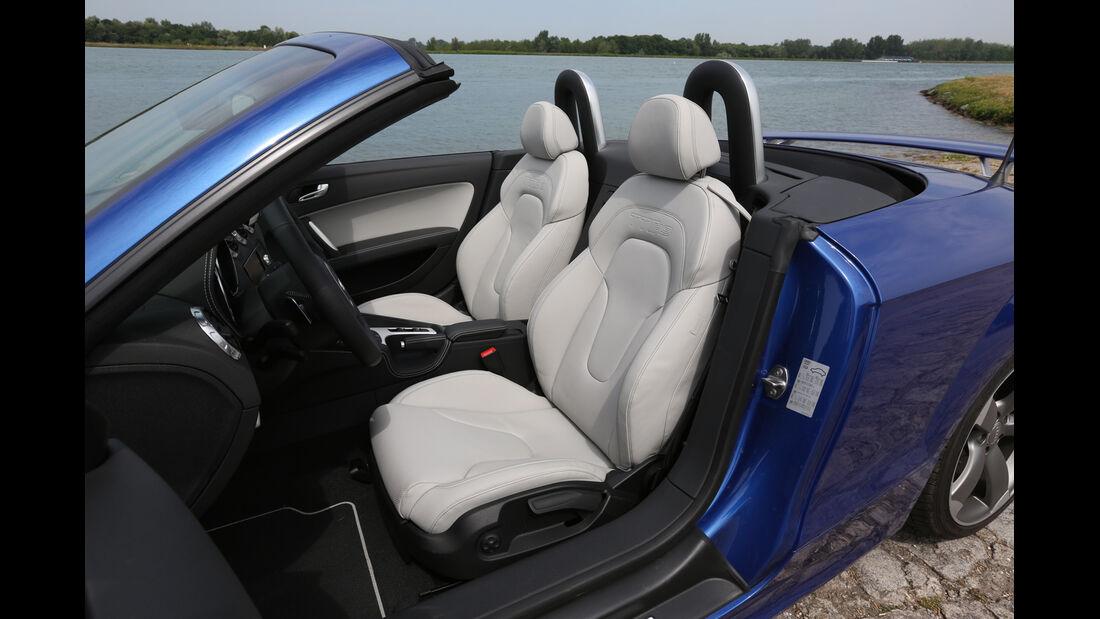Audi TT RS, Fahrersitz