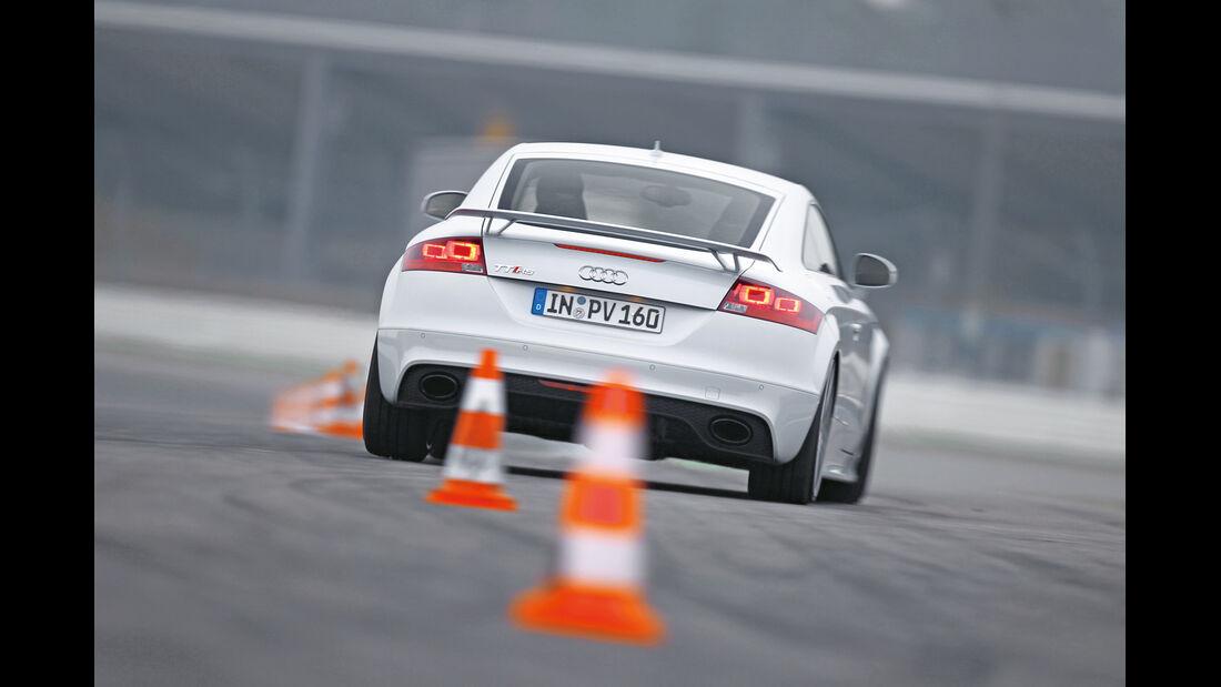 Audi TT RS, Heck, Slalom